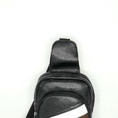 Мужской однолямочный рюкзак слим
