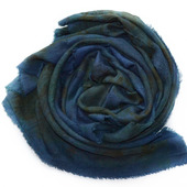 Мужской кашемировый шарф ручной работы