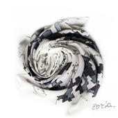 Шелковый платок батик