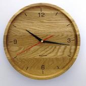 Часы настенные из дуба ЧД3