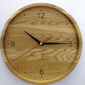 Часы настенные из дуба ЧД4