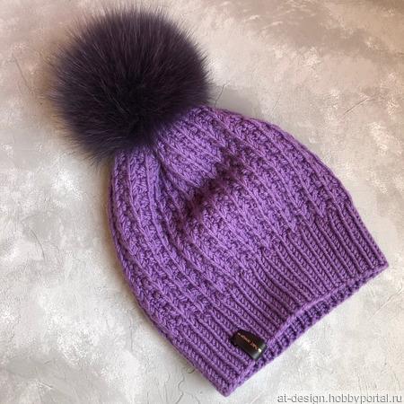 "Шапка ""Your perfect hat"" ручной работы на заказ"