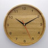 Часы настенные из дуба ЧД5