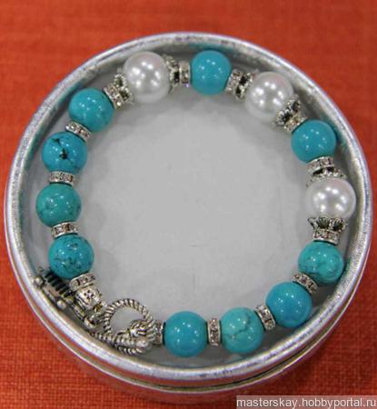 Астрологический браслет из натурального камня ручной работы на заказ