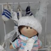 Игровая дидактивная кукла Маруся ручной работы