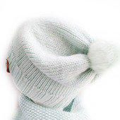 Комплект шапка и снуд детский