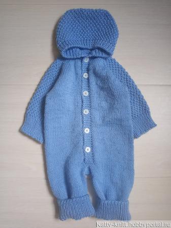 Комбинезон на новорожденного ручной работы на заказ