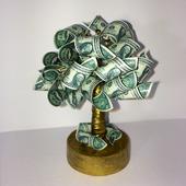 "Денежное дерево ""1$"""
