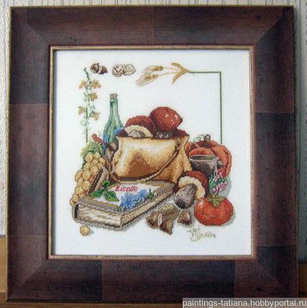 Картина «Дары лета» ручной работы на заказ