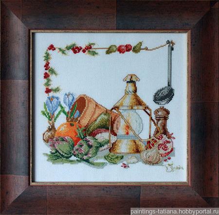 Картина «Деревенский натюрморт» ручной работы на заказ
