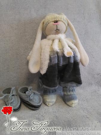 Заяц-Тильда ручной работы на заказ
