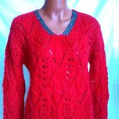 Вязаный свитер из кид-мохера