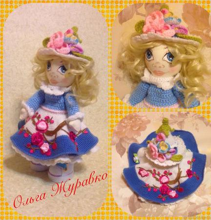 Куколка Цветочек ручной работы на заказ