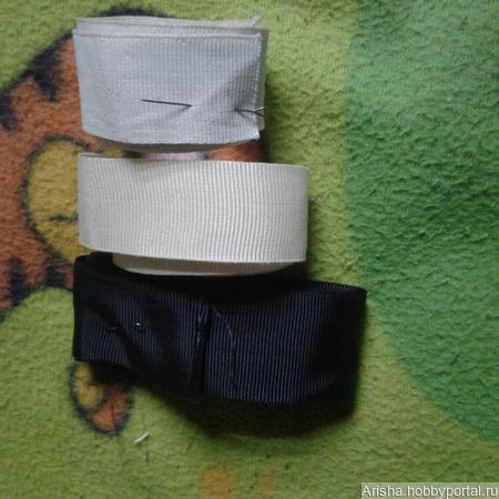 Репсовая лента для шитья ручной работы на заказ