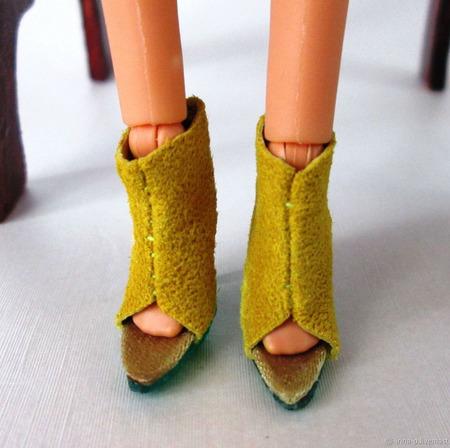 Обувь для кукол типа Барби ручной работы на заказ