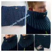 Воротник-шарф мужской