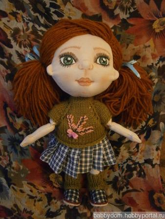 Кукла игровая текстильная ручной работы на заказ