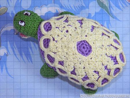 Мастер-класс по вязанию игрушки «Черепаха» ручной работы на заказ