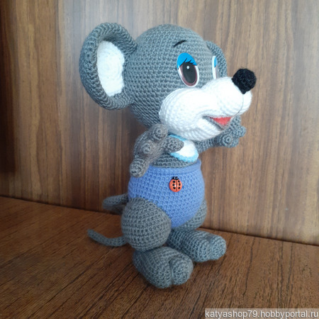 Мышь Шурик ручной работы на заказ