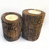"""Подсвечники деревянные """"Nature"""""""