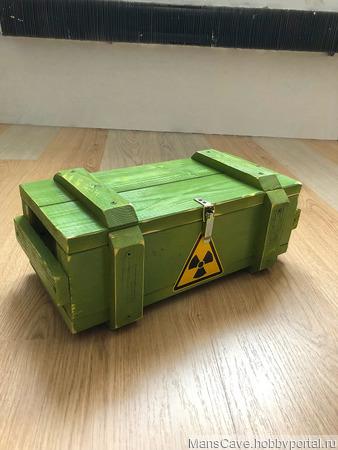 Подарочный армейский ящик ручной работы на заказ