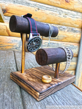 Держатель для часов и украшений ручной работы на заказ
