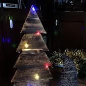 "Новогодняя деревянная елка ""Винтаж"""