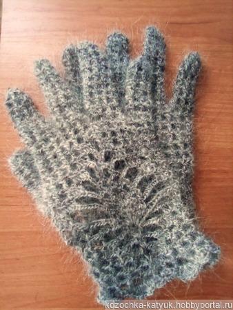 Перчатки ажурные ручной работы на заказ