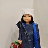"""Комплект """"Джинсовый"""" для кукол"""