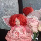 Кукла ручной работы Бетти-бабочка
