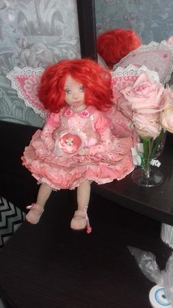 Кукла ручной работы Бетти-бабочка ручной работы на заказ
