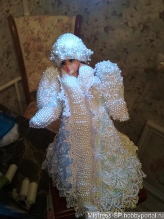 """Кукла """"Снегурочка"""" ручной работы на заказ"""