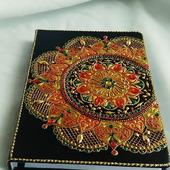 Ежедневник,  блокнот с закладкой, недатированый, клетка. 110 листов