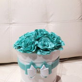 """Ночник """"Розы в шляпной коробке"""""""