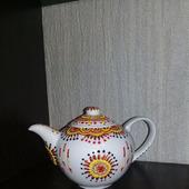 """Чайник """"Солнышко в руках"""""""