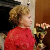 """Платье вязаное крючком """"По мотивам от Валентино"""""""