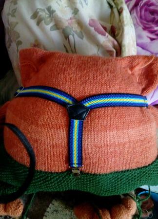 Кото-подушка ручной работы на заказ