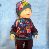 Трикотажный костюмчик для Беби Бон