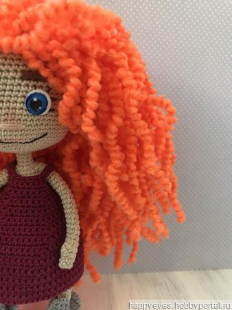 Кукла крючком амигуруми ручной работы на заказ