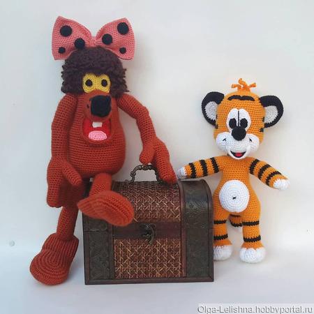 Дюдюка и Тигрёнок ручной работы на заказ