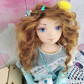 Кукла текстильная Стеллочка
