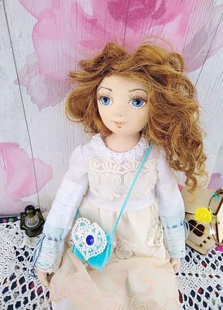 Кукла текстильная Стеллочка ручной работы на заказ