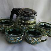 """Набор посуды для кофе, для чая """"Весенний"""""""
