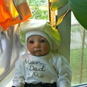 Коллекционная кукла - стильный мальчуган