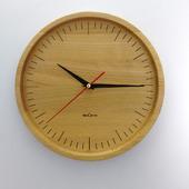 Часы настенные из бука. ЧБ2