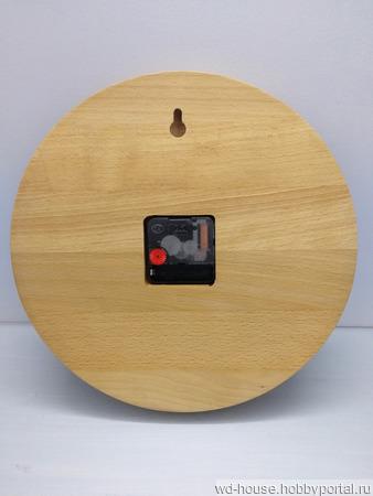 Часы настенные из бука. ЧБ2 ручной работы на заказ