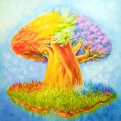 """Картина """"Волшебное дерево"""""""