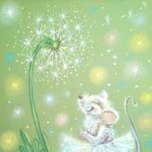 """Картина """"Счастливая мышка"""""""