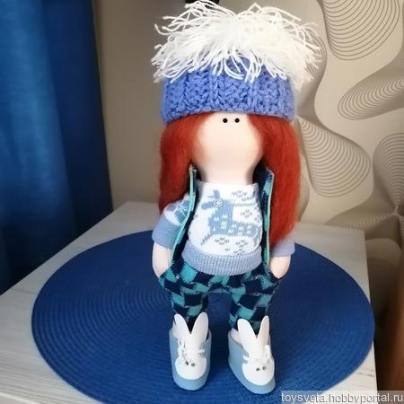 Авторская куколка ручной работы на заказ
