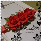 Повязочка c розами